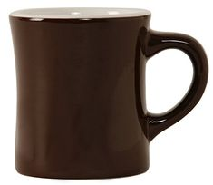 Rattleware Diner Mug 9Ounce Brown 6Pack * Click image to review more details. (This is an affiliate link)