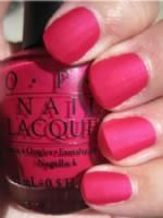 opi la paz-itively hot.  I love this color on my toes!