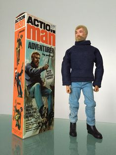 History of Action Man Vintage Toys 1960s, Retro Toys, Gi Joe, Childhood Toys, Childhood Memories, Videogames, Old School Toys, Blue Trousers, Pokemon Cosplay