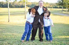 Step dad and Bride's boys (love)