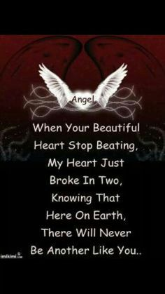 Angel.I`m here Elizabeth,always by your side watching your back baby,take all the time you need.