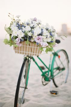 Love this #flowerbicycle