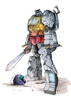 Grimlock....my favourite transformer of all time