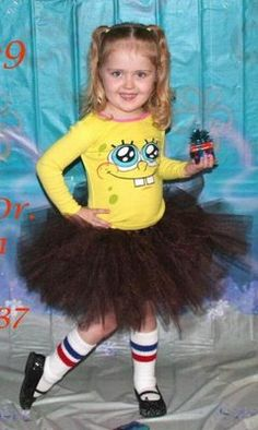 My Creative Way: Creative Spongebob Party Ideas      I SO LOVE THIS! I'm TOTALY MAKING THIS FOR MADISON TO WEAR ON HER BIRTHDAY!