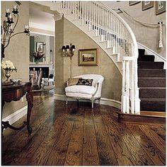Reclaimed wooden floors