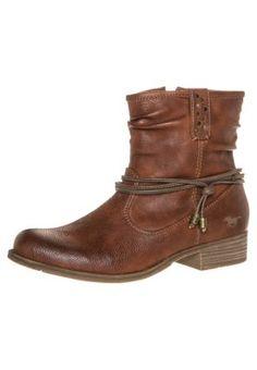 Cowboy/Biker boots - nussbraun