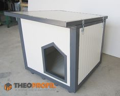 Flat Roof, Dog Houses, Dogs, Home Decor, Self, Decoration Home, Room Decor, Pet Dogs, Dog Kennels