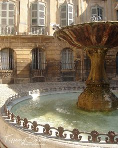 I just listed my first photograph for sale on Etsy! Over my years of traveling... my photos have sadly, often just been hidden away in computer files. I'm so excited to finally be sharing my photography with friends, family and the world! This photograph brings to you the beautiful Fontaine de la Place d'Albertas in Aix-en-Provence, France. I loved studying there in the summer of 2005. Enjoy! www.facebook.com/tiffanydawnphoto