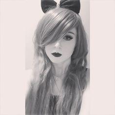 This is how I want my hair always <3  #Girl #Selfie #Gothic #Scene #Hair #MakeUp #Piercings