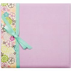 Colorbok Postbound Album With Ribbon