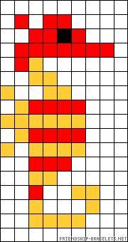 Free Seahorse Cross Stitch Pattern