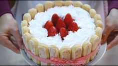 TIRAMISU' ALLE FRAGOLE RICETTA FACILE – Homemade Strawberry Tiramisù Recipe