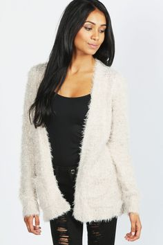Knit Cardigan | H&M US | Style | Pinterest | White cardigan ...