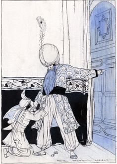 Bluebeard illustrated by Maginal Enright in Fairy Tales Everyone Should Know