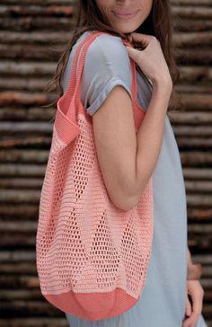 New crochet bag pattern english 36 ideas Ravelry Crochet, Crochet Mittens, Filet Crochet, Crochet Stitches, Knit Crochet, Crochet Skirt Pattern, Crochet Market Bag, Macrame Bag, Craft Bags