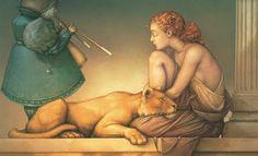 Michael Parkes - Fantasy Art & Magic Realism - Thé au Jasmin