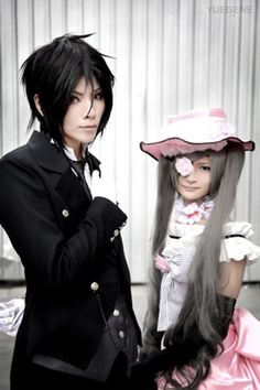 Sebastian and Ciel, Black Butler