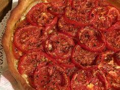 Red Tomatoes Tart