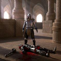 Death of Kys? Elder Scrolls Oblivion, Elder Scrolls Games, Elder Scrolls V Skyrim, Elder Scrolls Online, Fantasy Concept Art, New Fantasy, Fantasy Character Design, Medieval Fantasy, Character Art