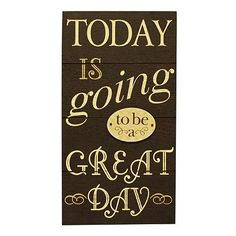Great Day Wall Decor
