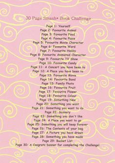 smashbook page challenge