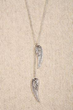 Collier à petites ailes d'ange