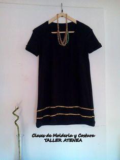 Vestido de modal  hecho en clases https://www.facebook.com/clasesdemolderiaycosturarosario/