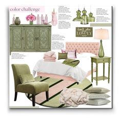 """Color Challenge"" by marionmeyer on Polyvore featuring interior, interiors, interior design, Zuhause, home decor, interior decorating, Right2Home, Nate Berkus, Jamie Young und Home Decorators Collection"