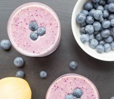 Energizing Blueberry Smoothie