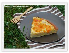 Gateau de Choux-Fleur à la Mimolette - Cuisiner... tout Simplement, Le Blog de cuisine de Nathalie