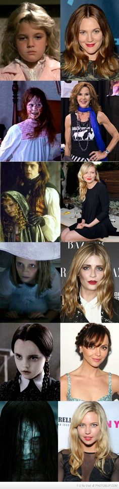 Horror Movie Kids All Grown Up
