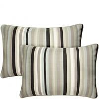 "16"" x 24"" Mid Century Black Stripe angelo:HOME Pillow"