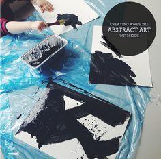 Abstract Art with Kids — Lindsay Stephenson