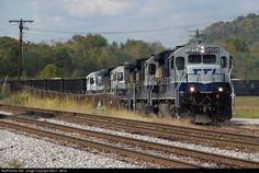 TTI #5815 Transkentucky Transportation Railroad GE B36-7 at Maysville, Kentucky