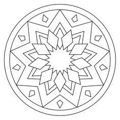 Mandalas online mandala online coloring pages print and color mandalas online this is a website that allows dibujos mandalas para colorear online Mandala Design, Mandala Pattern, Zentangle Patterns, Zentangles, Pattern Art, Embroidery Patterns, Mandalas Drawing, Mandala Coloring Pages, Coloring Book Pages