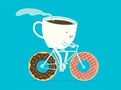 ilovedoodle - Coffee and Donuts