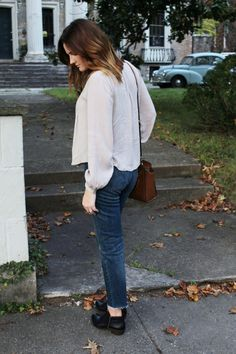 Fall style - Levi's  - Anthropologie-  ankle booties