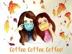 Coffee + Gilmores  :)