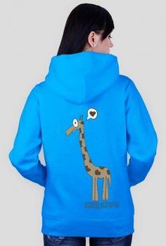 """Bluza damska """" żyrafa """""""