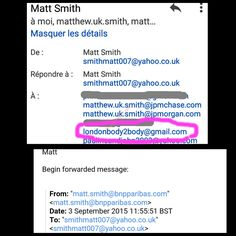 """Matt Smith """"smithmatt007""""from London who works at BNP Paribas is a cheater who regularly uses prostitutes   Cheater Report"""