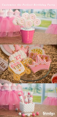 Our Pink Provincial Princess Party Supplies feature an adorable design of a gold tiara on a pink and white damask background. From the favors to the decorations and even tableware, our Pink Provincial Princess Party Supplies are fit for even a queen. Explore all our girl birthday party ideas & save 10% promo code SZPINIT until 12/31/18 11:59 PM EST.
