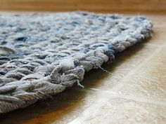 The Woven Home: Crochet Projects: Jean Rug