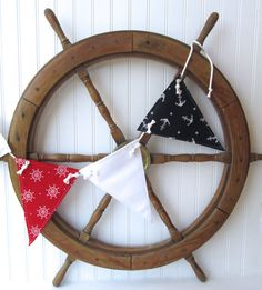 nautical nursery nautical decor beach house by whimsysweetwhimsy, $30.00