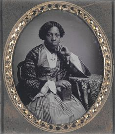 Unidentified African American Woman with Book | The Civil War in Missouri