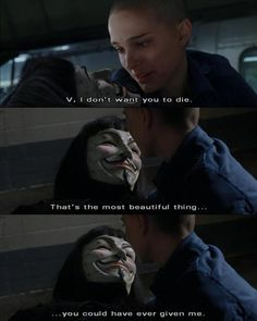 V for Vendetta V Comme Vendetta, V For Vendetta 2005, V For Vendetta Movie, V Pour Vendetta, V For Vendetta Evey, Series Movies, Movies And Tv Shows, V For Vendetta Quotes, Citations Film