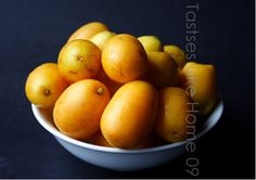 Caribbean Plums; One Of The Sweetest Fruits I Have Ever Tasted!
