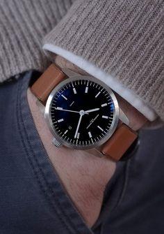 Maurice de Mauriac L1 bespoke watch. Luxury handmade watches for men and women.