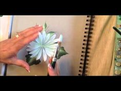 ▶ One Stroke: How To Paint A Daisy - YouTube
