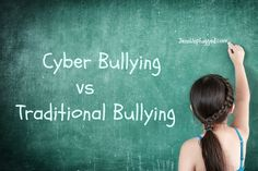 Cyber Bullying vs Traditional Bullying   @kidsemail1 Cyber Bullying, Happy Mom, Skin Care, Traditional, Kids, Young Children, Children, Skincare Routine, Skin Treatments