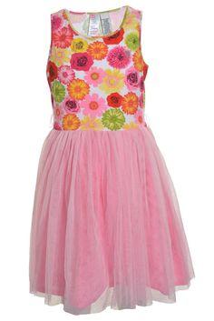 Guess Los Angeles Girls Sleeveless Floral Mesh Pink 14 Knee Length Stretch NWOT #GUESS #DressyEverydayHolidayPageantWedding